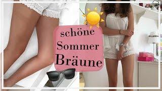 schön braun werden im Sommer   LSF, Sonne, Tan lotion   ♥ANNA KAISER♥