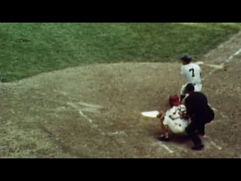 1964WS Gm7: Mantle's 18th and final Series home run