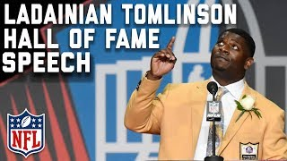 LaDainian Tomlinson's Hall of Fame Speech | 2017 Pro Football Hall of Fame | NFL