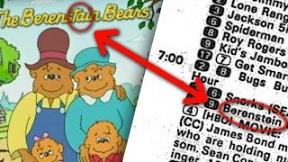 Berenstain Bears Conspiracy PROOF? - AKA Berenstein Bears Explained!