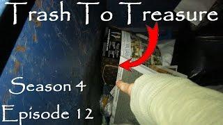 Trash To Treasure Season 4 Episode 12 Dumpster Diving Web Series Found Another Louis Vuitton Purse!!