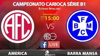 AMERICA X BARRA MANSA - CARIOCA B1