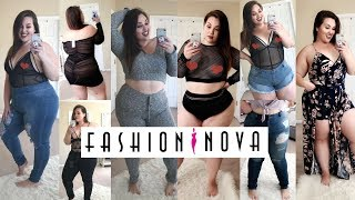 HUGE Fashion Nova Curve Try-On Haul! |Plus Size Fashion|