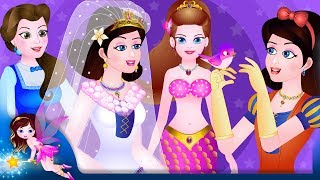 Princess Stories | Rapunzel | Cinderella | Beauty And The Beast | Fairy Tales Collection For KIds