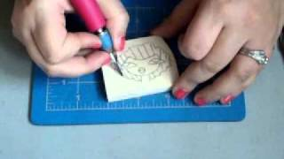 Hand carved stamp tutorial
