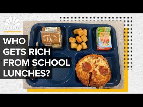 How Brands Like Domino s Profit From School Lunch
