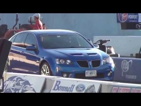 G8 GXP vs Corvette