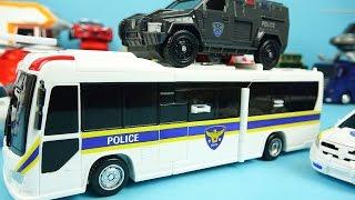 CarBot Police - Hello CarBot Cops transformers car toys 헬로카봇 K 캅스
