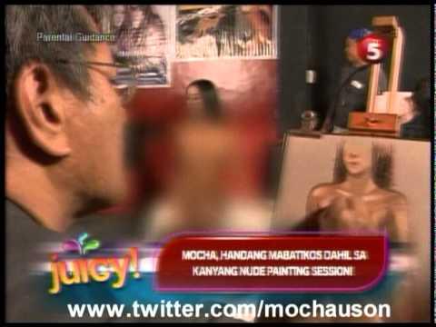 Nude Live Painting of Mocha Uson Juicy Tv5