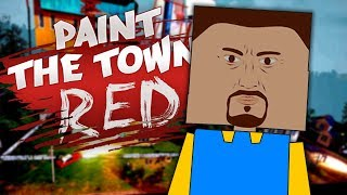 HELLO NEIGHBOR LEVELS IN PAINT THE TOWN RED | Paint the Town Red Gameplay (Best Workshop Levels)