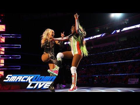 Xxx Mp4 Naomi Vs Lana Dance Off SmackDown LIVE May 29 2018 3gp Sex