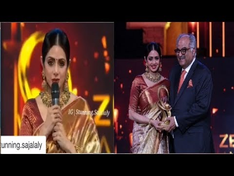 Xxx Mp4 Sridevi Sends Emotional Thanks To Sajal Aly After Winnning Mom Best Actress Award 3gp Sex