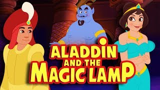 Aladdin and the Magic Lamp Full Movie - Story For Kids - English Fairy Tales & Bedtime Stories