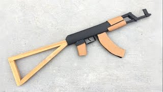 How to Make an AK-47 of Paper