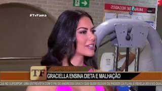 Graciella Carvalho faz dieta da gordura e exibe corpo perfeito