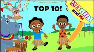 Video 10 Bora za Akili Mwaka 2017 | Imba na Akili | Katuni za Elimu kwa Kiswahili