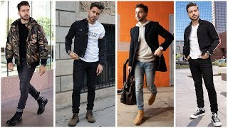 4 Easy Fall Outfits for Men | Men's Fashion Inspiration Lookbook | Alex Costa