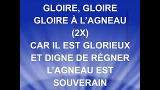GLOIRE À L'AGNEAU