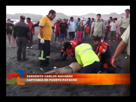 2 BOLIVIANOS MUERTOS Y 2 DESAPARECIDOS EN EL MAR EN TARDE PLAYERA