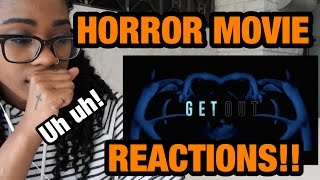 REACTING TO HORROR MOVIE TRAILERS 2