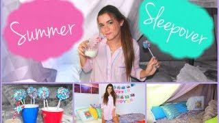 Summer Sleepover Ep.1 - First Kiss, Oreo Pops & Pajamas!