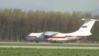 Iljušin Il-76 Na Mošnově / Ilyushin Il-76 At Ostrava-Mosnov