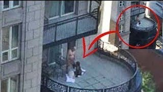 مشاهد صادمة صورتها كاميرات المراقبة فى الشارع لو لم يتم تصويرها لما صدقتها فى عمرك