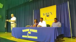 Kelly Bryant signing ceremony part one