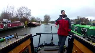 Winter Narrowboating adventures