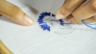 Thread Embroidery Designs   DIY Hand Stitching    HandiWorks #95