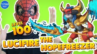 Monster Legends: Lucifire the Hopefreezer level 1 to 100 - Combat