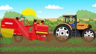 ☻ Farm Work - Growing potatoes | Fairy Tractor For Kids | Rolnik i Zbiór Ziemniaków ☻