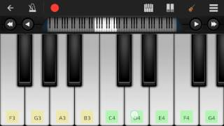 Amar Kache Tumi Mane By Kureghor -Perfect Piano