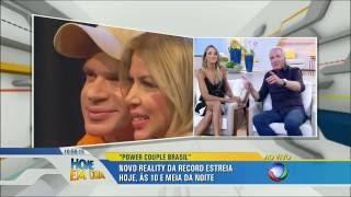 Roberto Justus fala sobre o Power Couple Brasil no Hoje em Dia