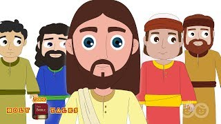 Jesus and 12 Disciples | Call for Disciples | Bible Story for Children | Holy Tales Bible Stories