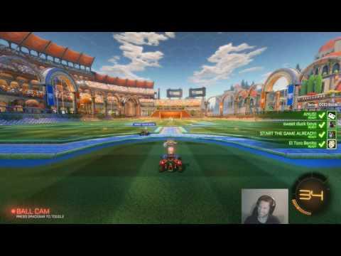 ElToroBenito Gaming Rocket League Live Stream (17th Feb 2017)