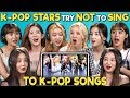 Download Lagu MP3 K-POP STARS REACT TO TRY NOT TO SING CHALLENGE (MOMOLAND  모모랜드)