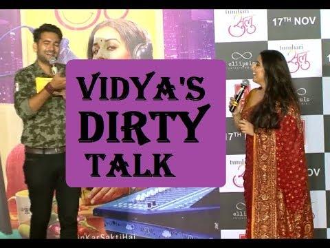 OMG! Vidya Balan's DIRTY TALK During Trailer Launch Of TUMHARI SULU