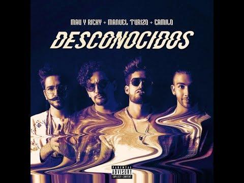 Desconocidos Mau y Ricky Manuel Turizo Camilo Audio Official