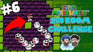 The MOST CREATIVE Rooms we've seen yet. || PART 6 || Super Mario World: Room of 100 Enemies