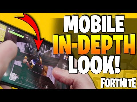 Xxx Mp4 FORTNITE For Mobile Phones Control Scheme HUD Layout An In Depth Look At BATTLE ROYALE IOS 3gp Sex