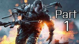 Battlefield 4 Gameplay Walkthrough Part 1 - Campaign Mission 1 - Baku (BF4)