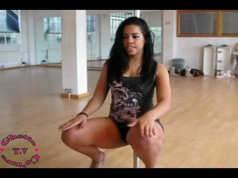 Beginners Pole Dance Tutorial: Getting Used To The Pole