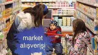 Vlog: çocuklara market alışverişi - abur cubur alışverişi