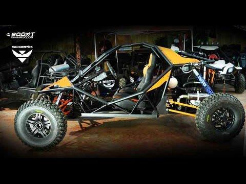 Buggy BOOXT SCORPIK 1600 115CV buggy ULTIME fabriqué en FRANCE Vidéo amateur