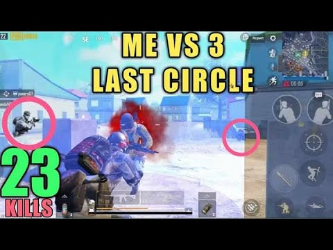 Insane Ending In Pochinki 23 Kills Vs Squad PUBG Mobile