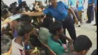 Sri Lanka Rescues Burmese Refugees (VOA Burmese)