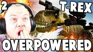 OVERPOWERED T-REX!! - Beast Battle Simulator #2