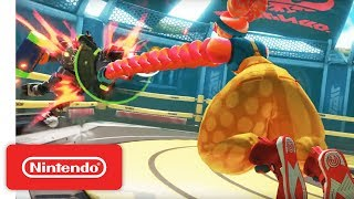 ARMS Ver 3.2 Update Trailer - Nintendo Switch