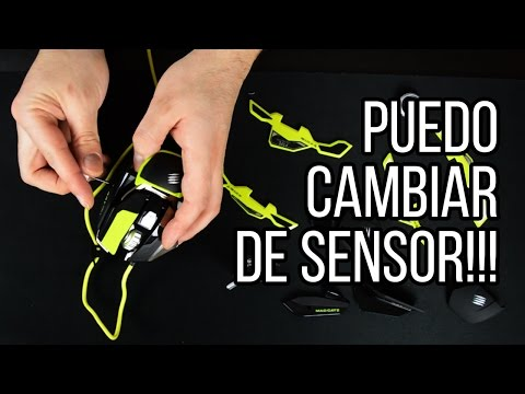 RAT Pro X Ratón con sensor intercambiable de gaming